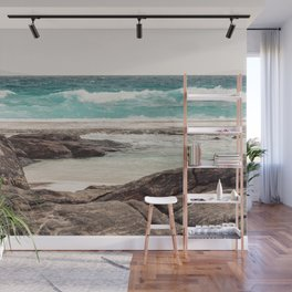 Watching the Waves Roll In Wall Mural