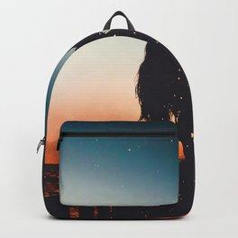 sunset lights Backpack