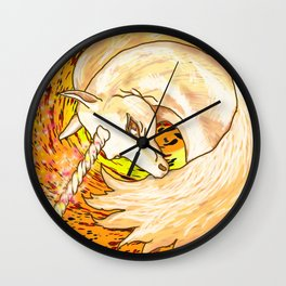 Otherworld Unicorns 6: Autumn Ether Wall Clock