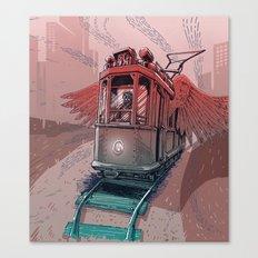 Winged Tram Canvas Print