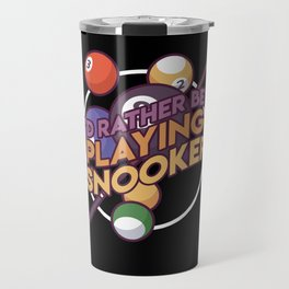 Billard Billards Games Pool Gift Idea Travel Mug