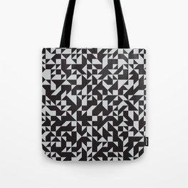 Girard Inspired Geometric Pattern Tote Bag