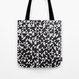 Girard Inspired Geometric Pattern Tote Bag