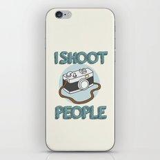 I Shoot People iPhone & iPod Skin