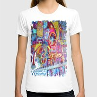 steam punk T-shirts featuring Steam Punk Music Box  by SharlesArt