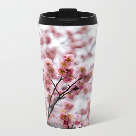 The First Bloom Metal Travel Mug