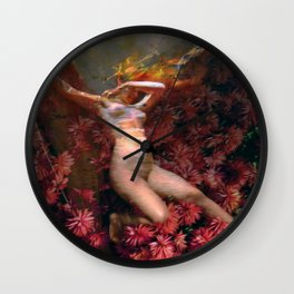 Storm Tossed Wall Clock