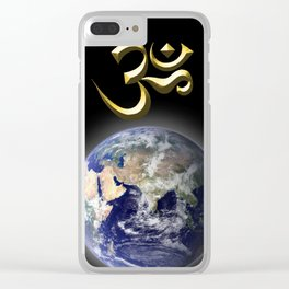 Om (Aum) - The Sound of Creation Clear iPhone Case