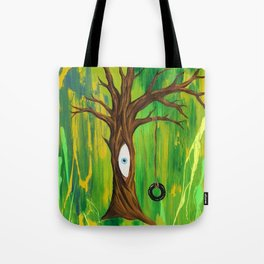 Tire Swing / Never forget your inner child Tote Bag