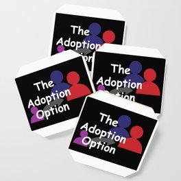 """The Adoption Option"" TV Show Logo Coaster"