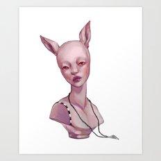 Jinky Art Print