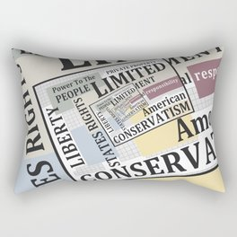 Limited Government Rectangular Pillow