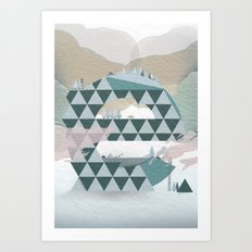 Nature is a dynamic system Art Print