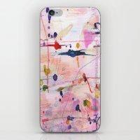 polka iPhone & iPod Skins featuring Polka by SaniQ