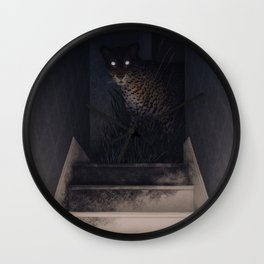 Stairwell Wall Clock