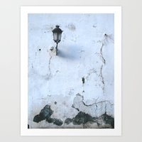 cracked Art Prints featuring Cracked by @lauritadas
