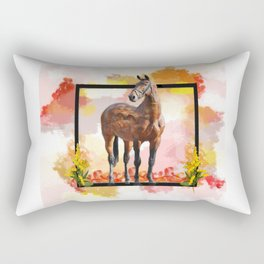 KY Thoroughbred Sunset Rectangular Pillow