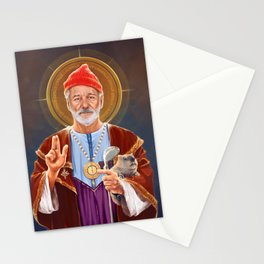 Saint Bill of Murray Stationery Cards