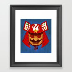 The Defender of the Mushroom Dynasty Framed Art Print