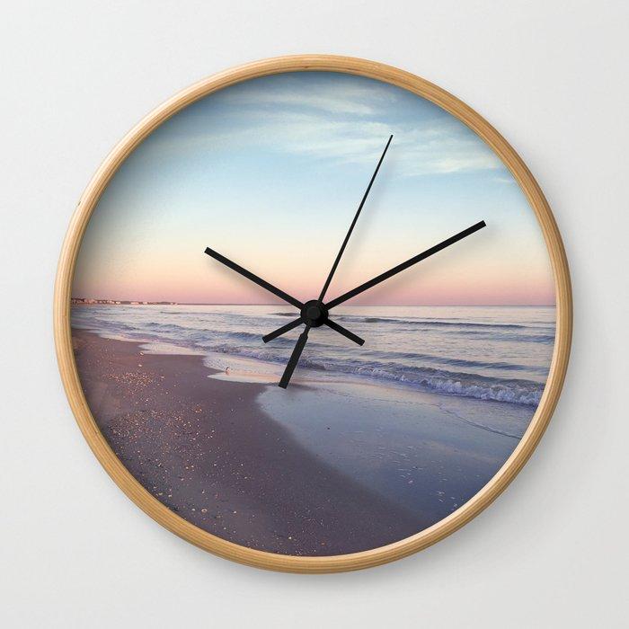 Beach Colors Wall Clock