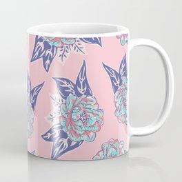 Cabbage Rose Tattoo Flash Coffee Mug