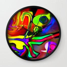 Two-headed lizard Wall Clock