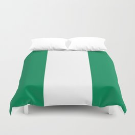 Flag of Nigeria - Authentic High Quality image Duvet Cover