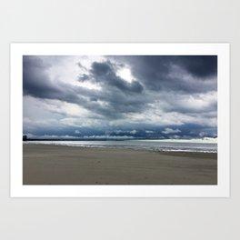 Cedar Point Beach, Sandusky Ohio Art Print