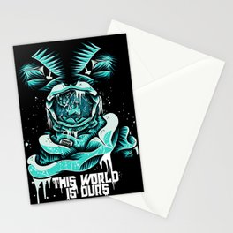 This World is ours Stationery Cards
