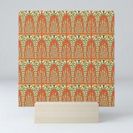 Arcs pattern Mini Art Print