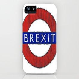 Brexit iPhone Case