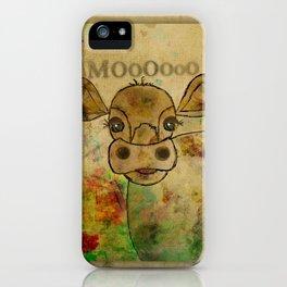 Ginkelmier Land ~ Mooo ~ Cow iPhone Case