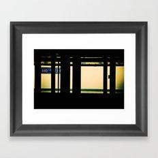 One One Oh Framed Art Print