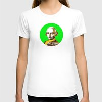 mozart T-shirts featuring Mozart Kugel Green by Marko Köppe