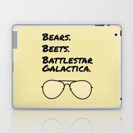 Bears. Beets. Battlestar Galactica. Laptop & iPad Skin