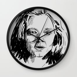 Clarice Starling Sketch - The Silence of the Lambs Wall Clock