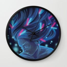 The Rave Wall Clock