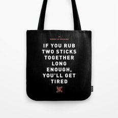 Words of Wisdumb #2 Tote Bag