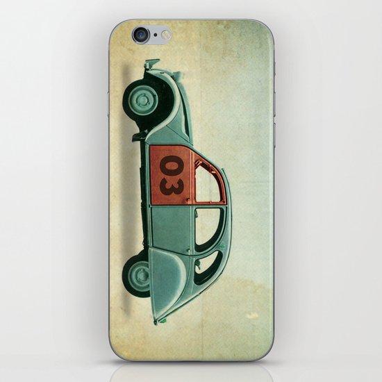 Number 03 _ Citron 2CV iPhone & iPod Skin