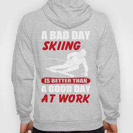 Skiing Lover Shirt. Costume Ideas For Daughter/Son. Hoody