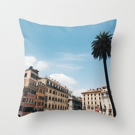 Una primavera a Roma Throw Pillow