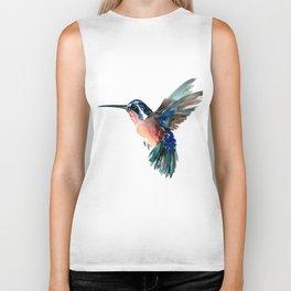 Flying Hummingbird Biker Tank
