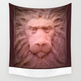 Lion clay Wall Tapestry