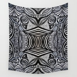 Gaia's Garden Inside Out No. 1 Wall Tapestry