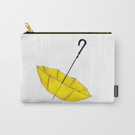 The Yellow Umbrella Carry-All Pouch