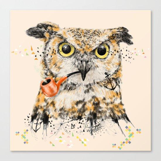 Mr.Owl II Canvas Print