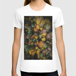 Autumn Forest - Aerial Photography T-shirt
