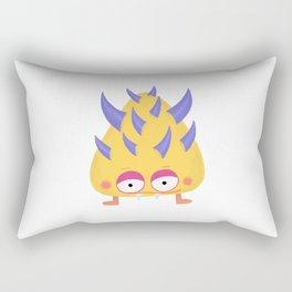 Yellow Little Monster Rectangular Pillow