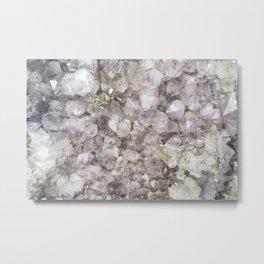 Crystals I.- Metal Print