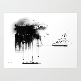A Nightmare I had... Art Print